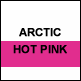 Arctic White & Hot Pink