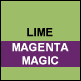 Lime & Magenta