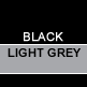 Black & Light Grey