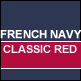 French Navy & Red