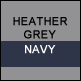 Heather Grey & Navy
