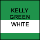 Kelly Green & White