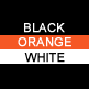 Black, Orange & White