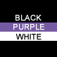 Black, Purple & White