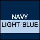 Navy & Light Blue