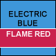 Electric Blue & Flame Red