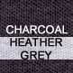 Charcoal and Heather Grey