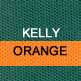 Kelly Green and Orange