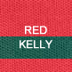 Red and Kelly Green