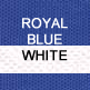 Royal and White
