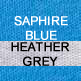 Sapphire and Heather Grey