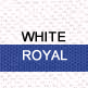 White and Royal