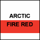 Artic White & Fire Red