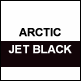 Artic White & Jet Black