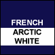 French Navy & Artic White