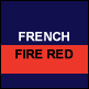 French Navy & Fire Red