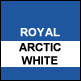 Royal & Artic White