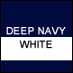 Deep Navy & White