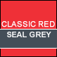 Classic Red & Seal Grey