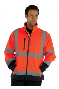High Vis Softshell Jacket