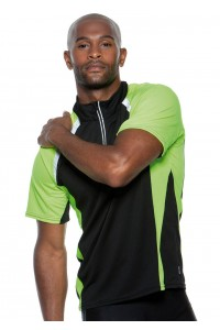 Cooltex® Tour Zip Neck Top